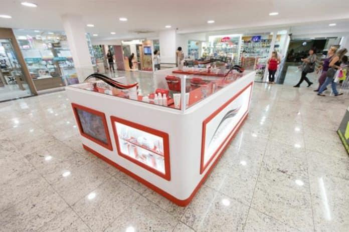 d291c03dc Quiosque para shopping  30 opções de franquias
