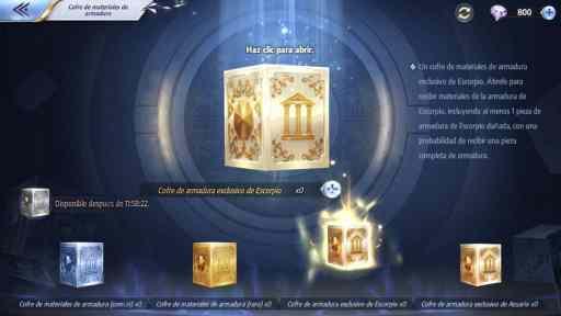 Reparacion de armaduras, saint seiya kotz, armaduras renacidas, renacimiento de armaduras, saint seiya awakening