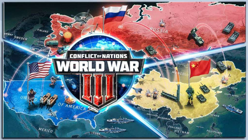 conflict of nations, World War 3
