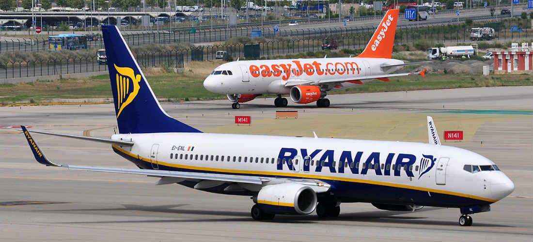Por qué las aerolíneas Easyjet y Ryanair no quieren volar a América