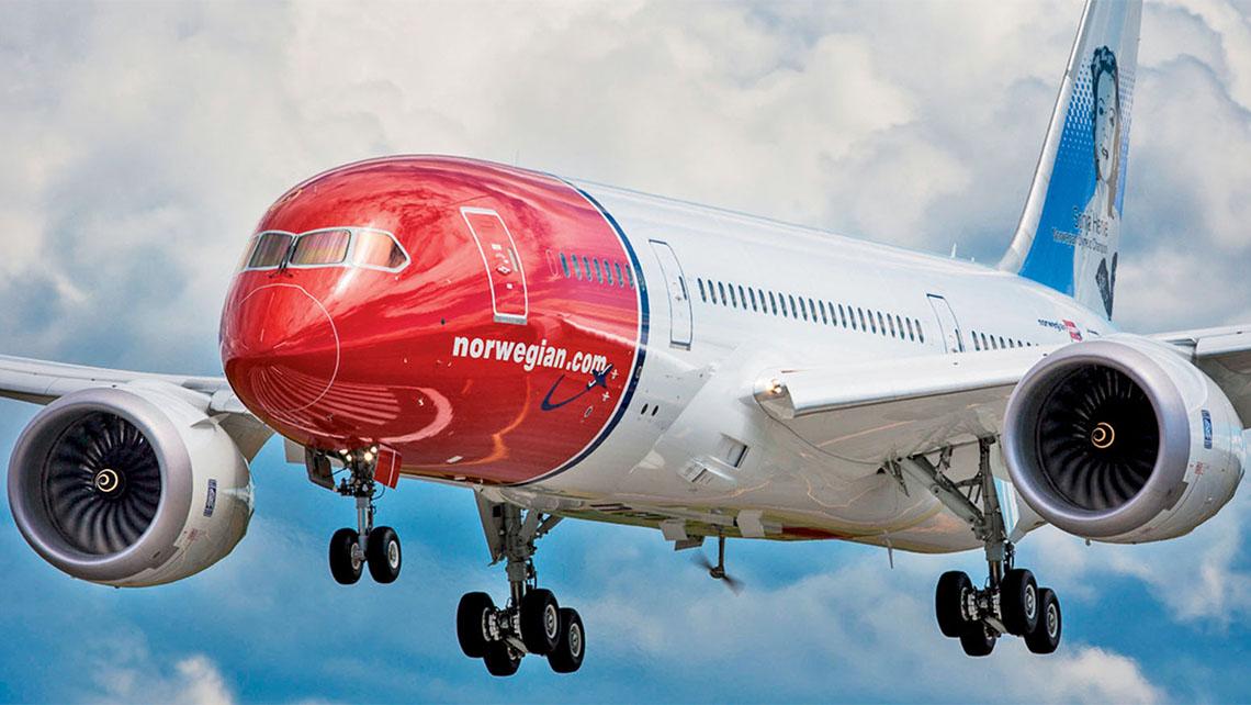 Norwegian quierevolar a America desde Canarias