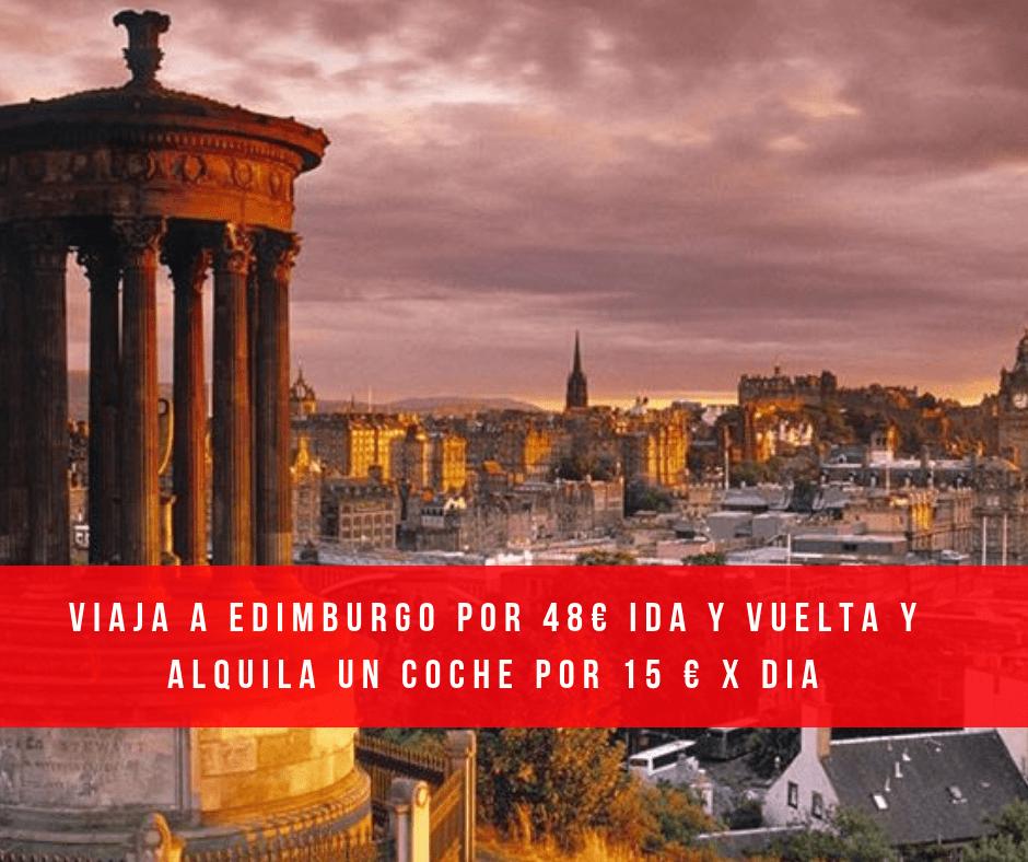 Conoce Edimburgo – Vuelo Ida y Vuelta por 48 €