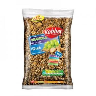 Granola de cereais diet
