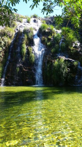 Cachoeira Lagoa Azul
