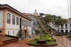Escadaria da Igreja de Santa Rita