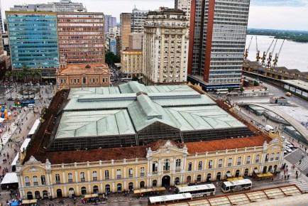 Mercado Público Central de Porto Alegre