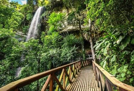 Cachoeira da Gruta de N. S. de Fátima