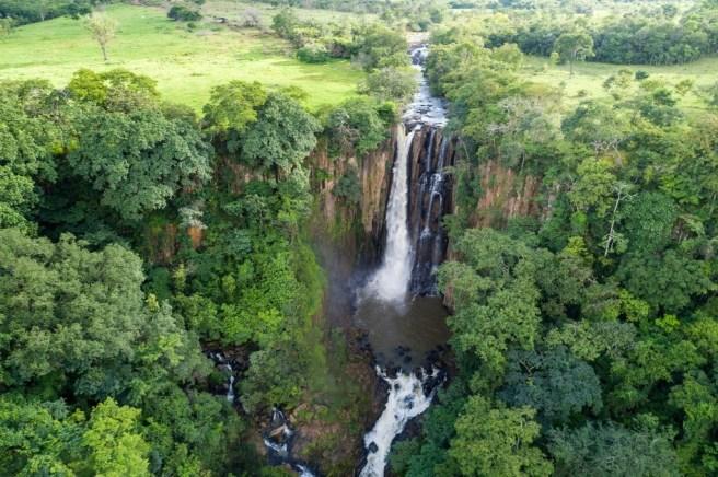 Cachoeira Dois Saltos/ foto Pablo Regino