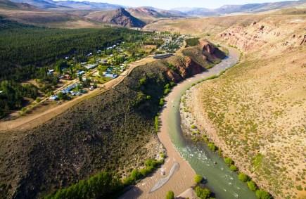 Vista da localidade de Varvarco