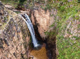 Cascada Toro Warkhu/ foto Daniel Huarita
