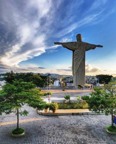 Complexo do Cristo Redentor/ foto @rafaelpersonalfight