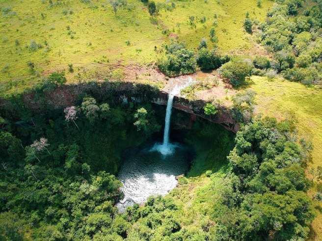 Cachoeira do Ribeirão das Furnas/ foto Felipe Oliveira Garcia