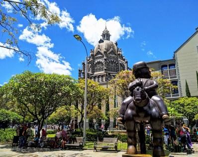 Parque de las Esculturas de la Plaza Botero/ foto Reg Natarajan