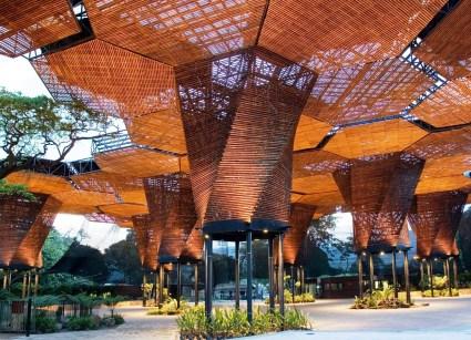 Orquideorama del Jardín Botánico/ foto Sergio Gómez