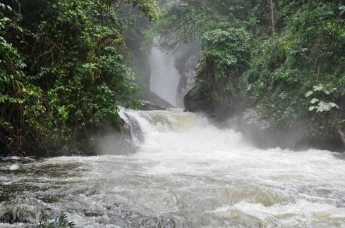 Salto del Río Caraño/ foto William Wilches Sánchez