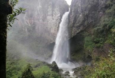 Cascada Los Molinos/ foto César Hernández