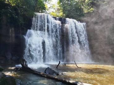 Cachoeira do Grim/ foto Osni Valporto