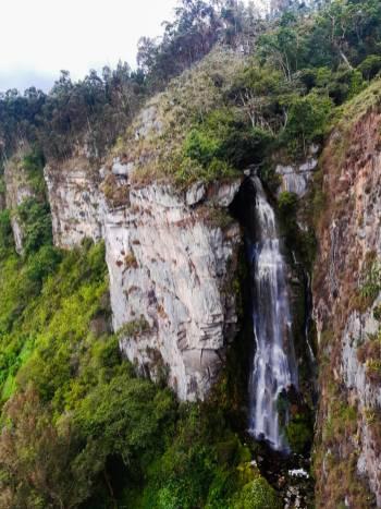 Cascada del Alto Ariari/ foto Diana Castro Romero