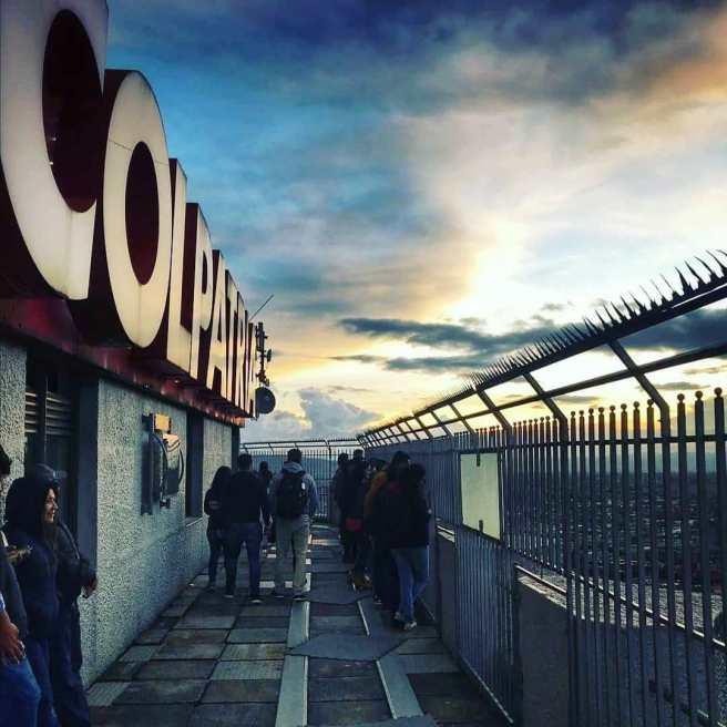 Mirador de la Torre Colpatria/ foto Omar Garcia Cardozo