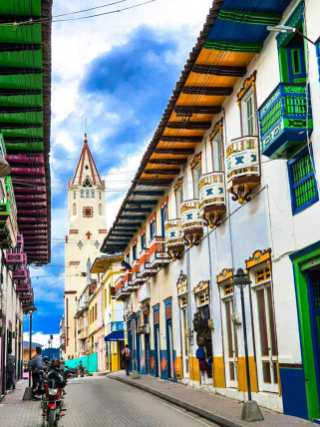 Calle Real/ foto Oswaldo Canizales