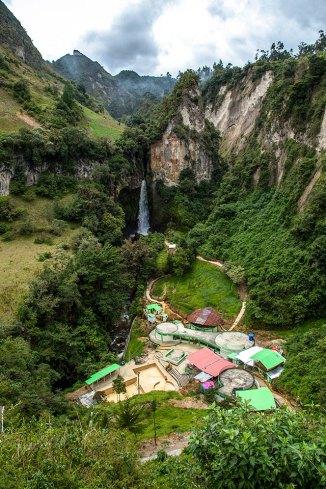 Cascada de Tajumbina/ foto Situr Nariño