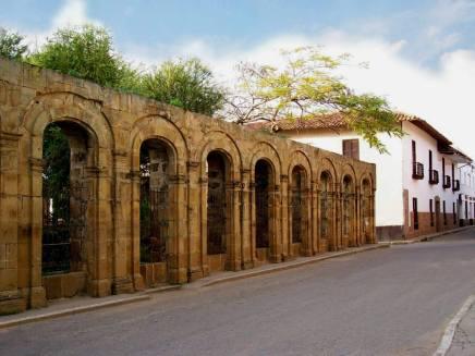 Muros del Capitolio del Estado Soberano de Santander