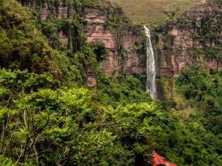 Cascada Santa Rita/ foto Edward Barón
