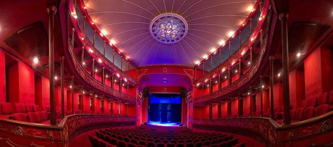 Teatro Municipal Ernesto Salcedo Ospina/ foto Pedro Garcia Cortes