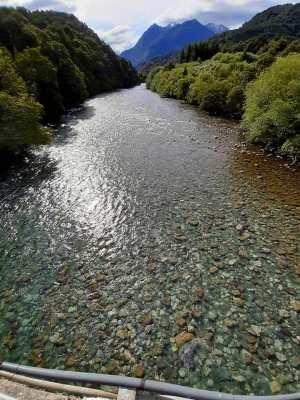 Pasarela del río Espolón/ foto Jose Francisco Rodríguez Arenas