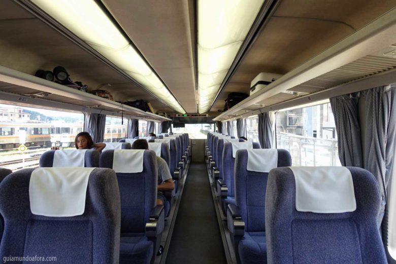 Trem o Japão