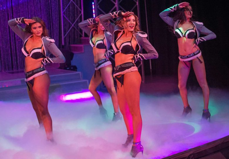 show de topless em Las Vegas
