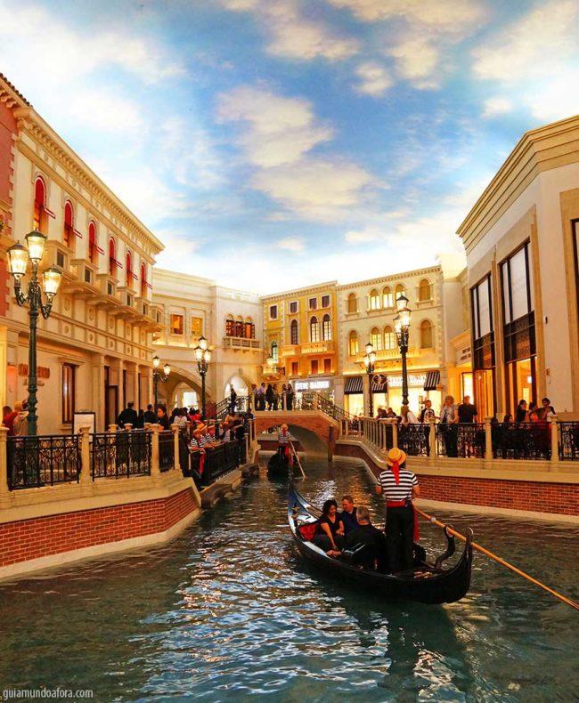 Venetian gondola Las Vegas