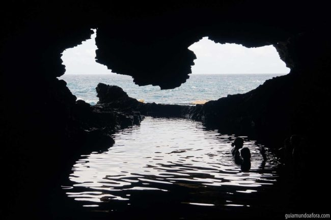 Animal Flower Cave no Caribe