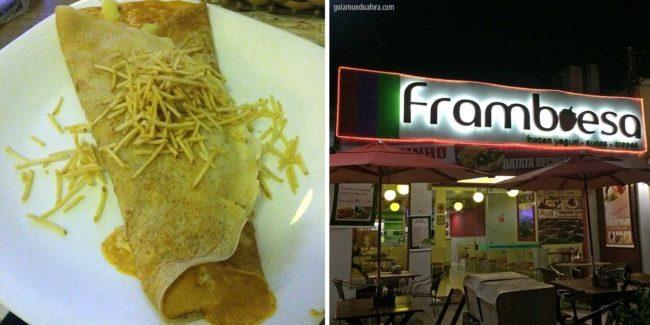 framboesa - onde comer em Bonito