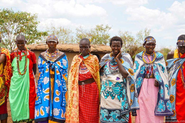 Mulheres da Tribo Masai