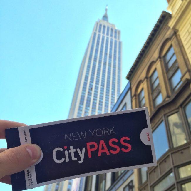 CityPASS em Nova York