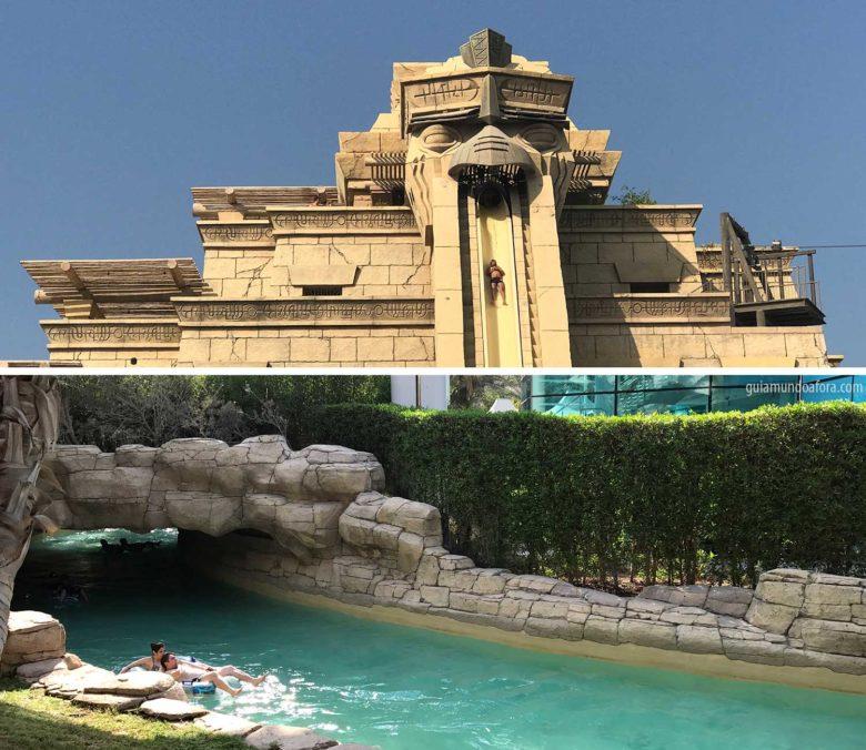 Aquaventura no Atlantis em Dubai