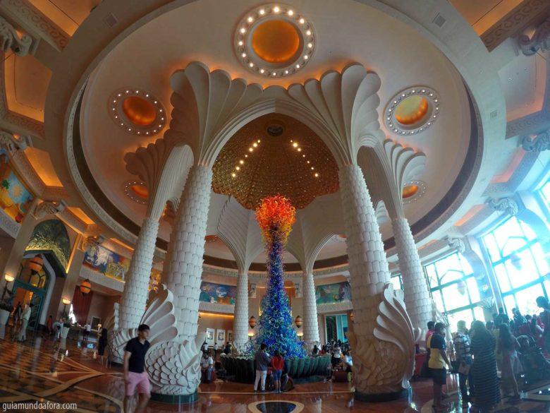 Lobby Atlantis em Dubai