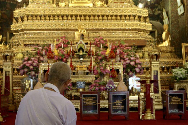 Templo do buda reclinado