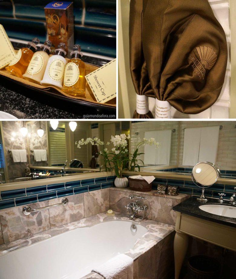 banheiro Mandarin Oriental Bangkok