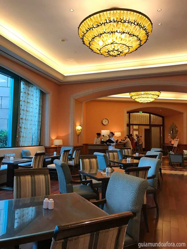 emperial club lounge no atlantis em dubai
