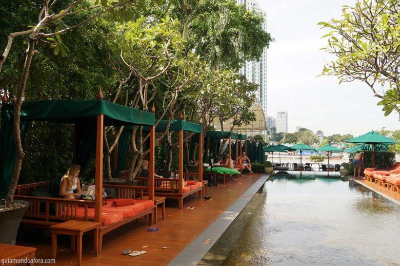 piscina Mandarin Oriental Bangkok