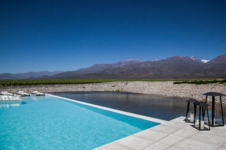 piscinas incríveis ao redor do mundo: Casa do Uco