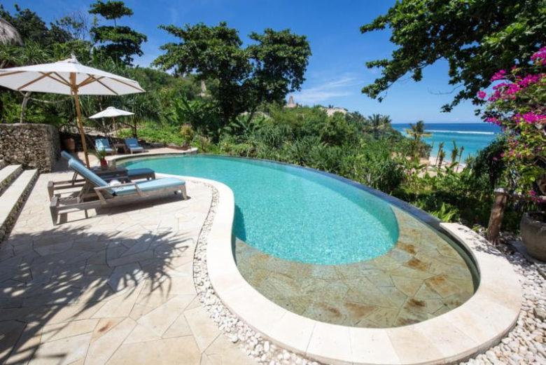 piscinas incríveis ao redor do mundo: Nihiwatu