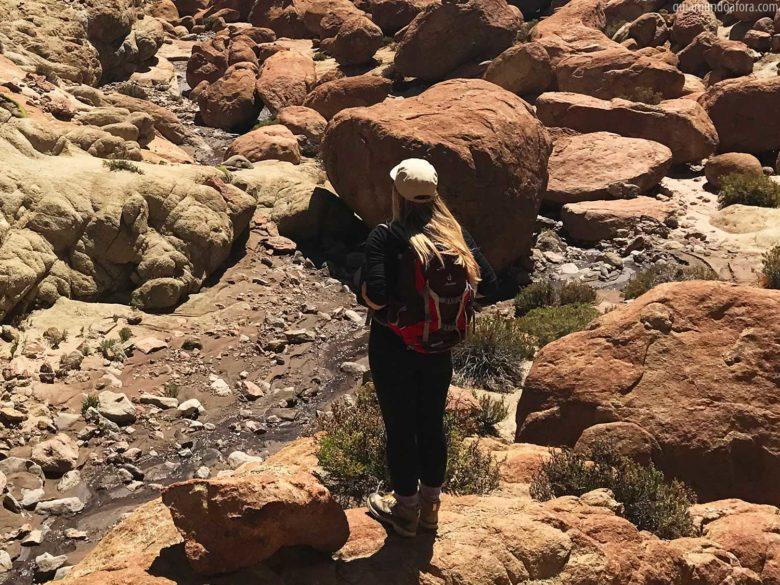 Equipamentos de trekking