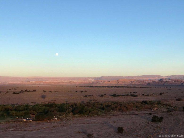 lua cheia no Atacama