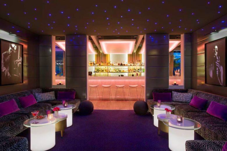 N'VY Bar do Hotel N'vY, um dos hotéis na suíça para amantes de arte