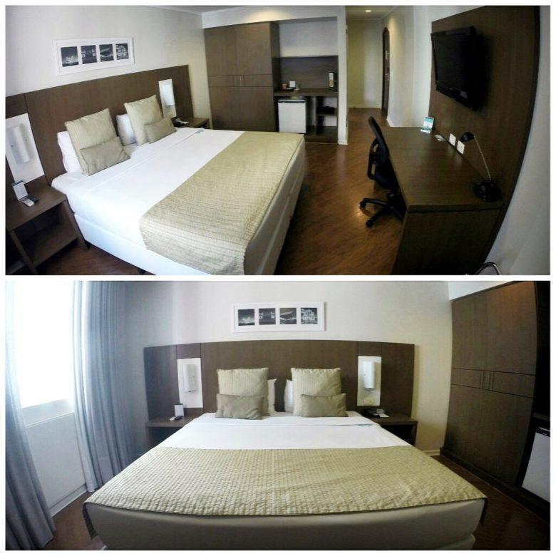 quarto deville, hotel no centro de Curitiba