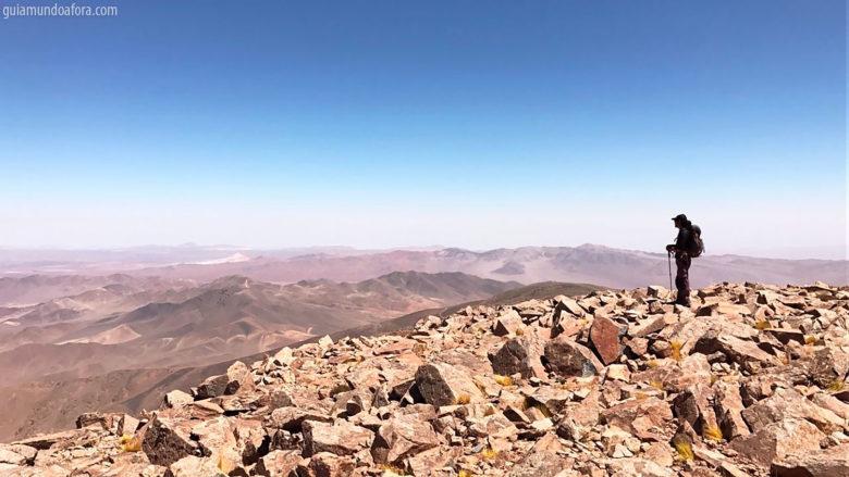 Nosso guia Elias no Cerro Quimal