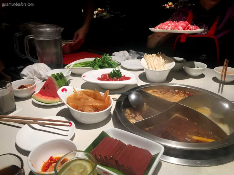 hot pot na China